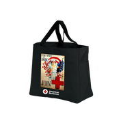 Day Tote with Spirit of America poster