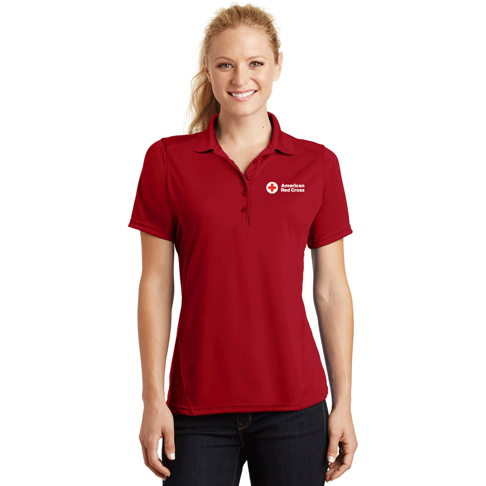 Women's Short Sleeve Polo Shirt | Red Cross Store