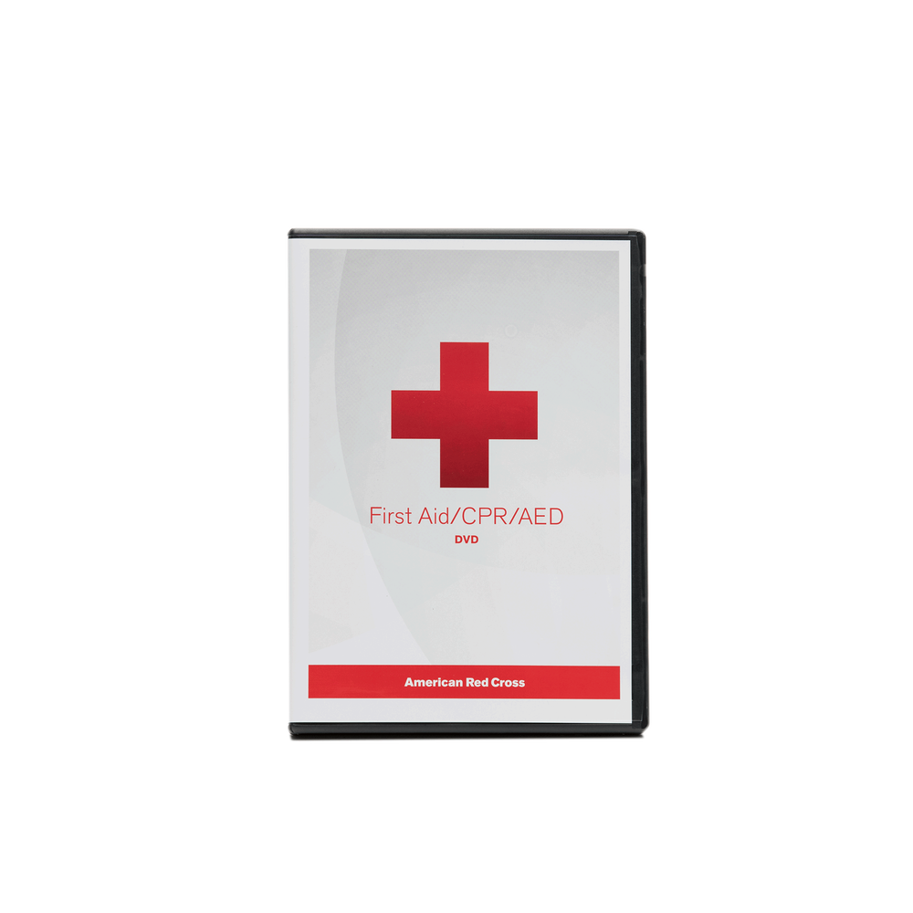 First Aidcpraed Dvd Rev 217 Red Cross Store