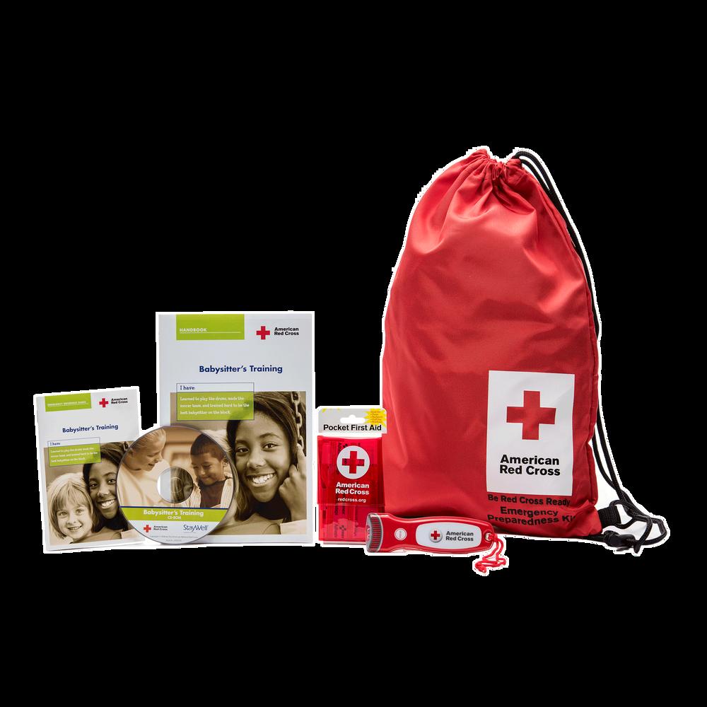 Babysitters training deluxe student kit red cross store xflitez Images