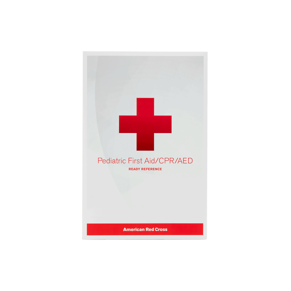 Pediatric First Aidcpraed Ready Reference Red Cross Store
