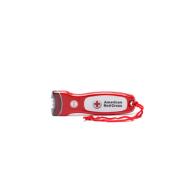 American Red Cross LED Flat Flashlight with Magnet