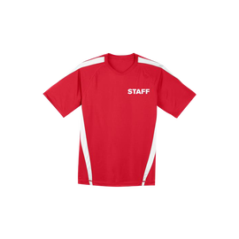 STAFF - Sport-Tek Colorblock PosiCharge Competitor Tee