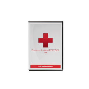American Red Cross First Aid/CPR/AED DVD Spanish