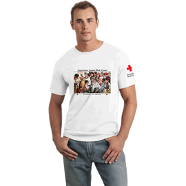 Tee Shirt with Jr. Red Cross KIDS vintage print