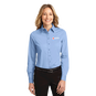 Ladies button Down Oxford Dress Shirt with ARC logo