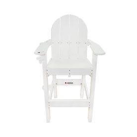 Red Cross LG 500 Plastic Lifeguard Chair