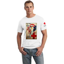 Unisex T-Shirt with Spirit of America Vintage Print