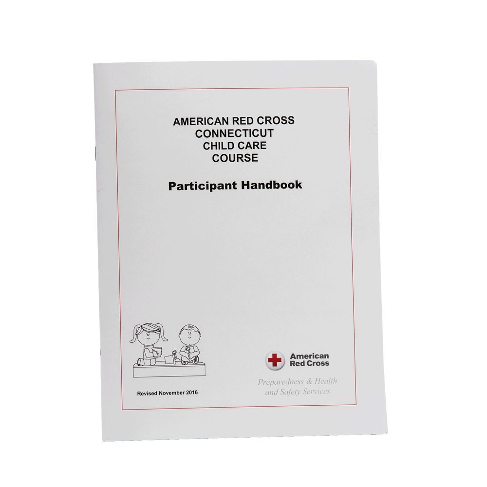 Connecticut Child Care Course Participant Handbook Red Cross Store
