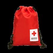 American Red Cross Drawstring Back Pack