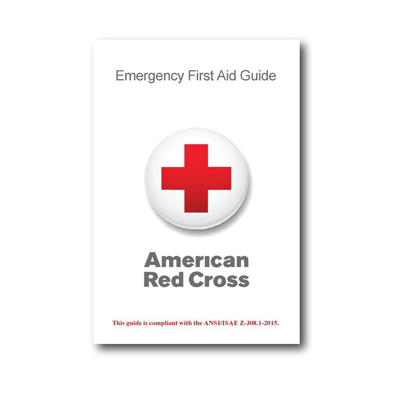 image about Printable First Aid Guides named Purple Cross Crisis Very first Support Lead Pink Cross Retail outlet