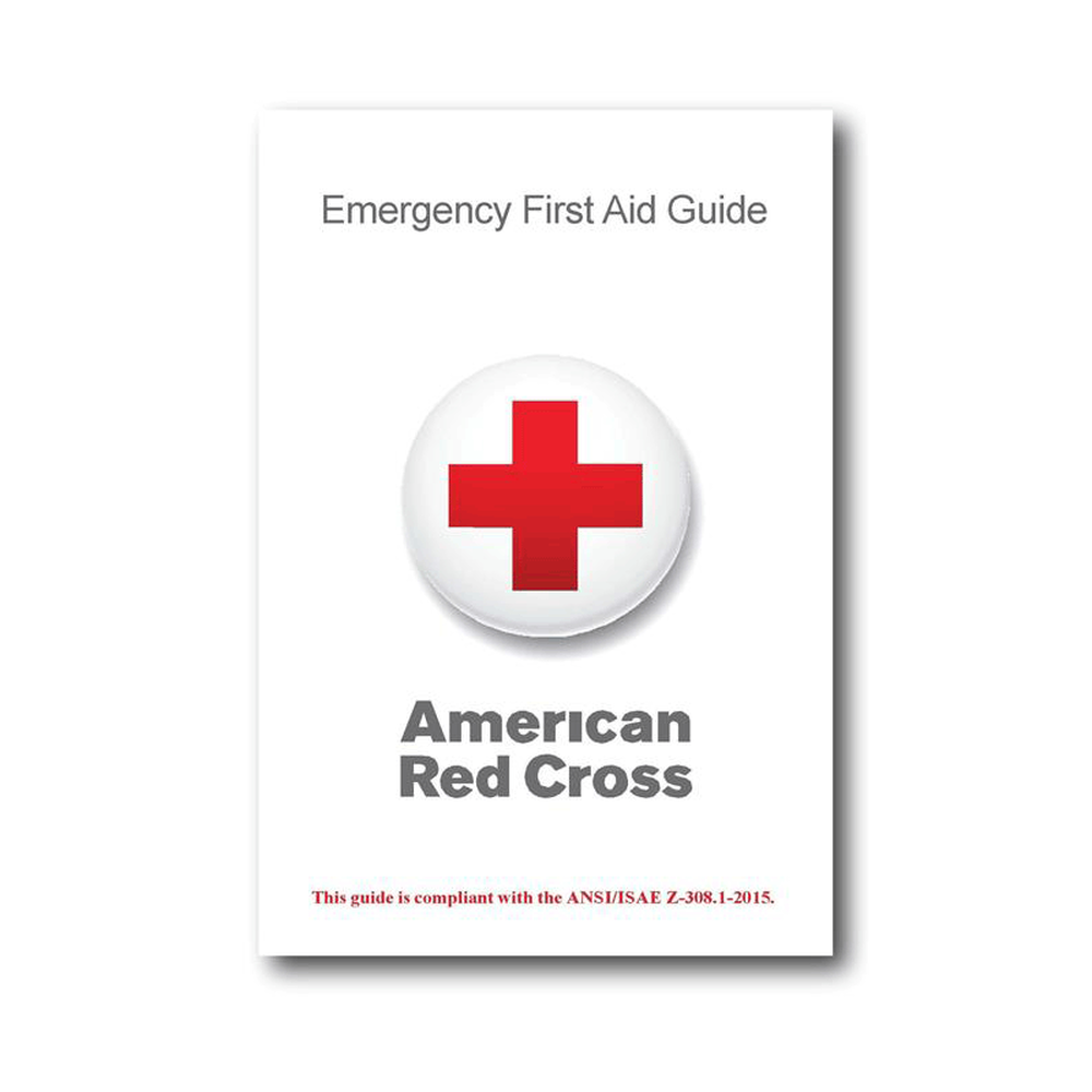 Red Cross Emergency First Aid Guide Red Cross Store