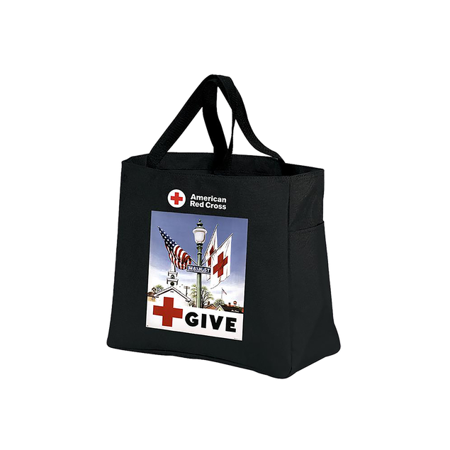 Day Tote with GIVE poster