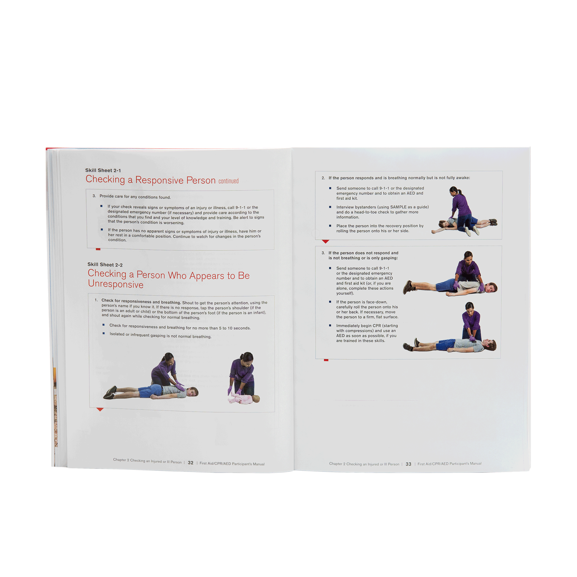 photo regarding Printable First Aid Manual called Initial Help/CPR/AED Contributors Information Pink Cross Retailer