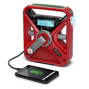 FRX3 Rechargeable Hand Crank AM/FM/NOAA Weather ALERT Radio