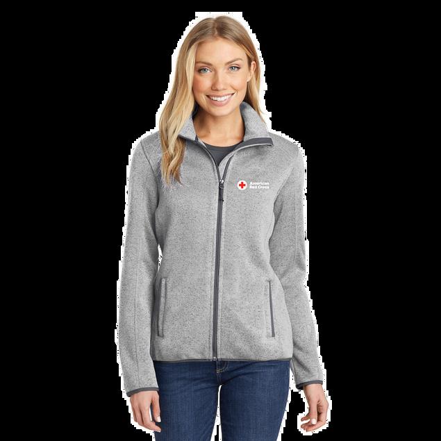 Women's Fleece Sweater Jacket