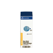 1 in. x 3 in. Visible Blue Metal Detectable Bandage