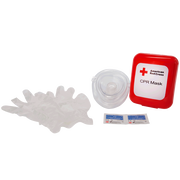 Red Cross CPR Mask, Hard Case