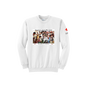 Unisex Crew Neck with American Junior Red Cross Kids Vintage Print