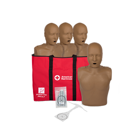 Prestan Adult Manikins with CPR Monitors (4-Pack)