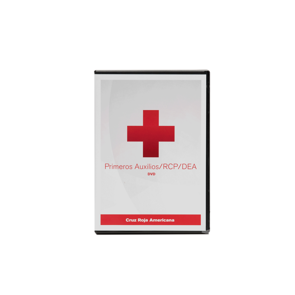 American Red Cross First Aidcpraed Dvd Spanish Red Cross Store