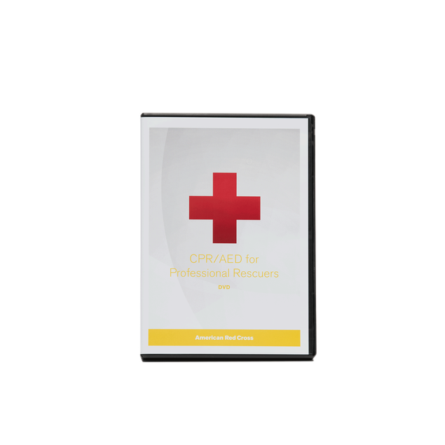 Cpraed For Professional Rescuers Dvd Red Cross Store