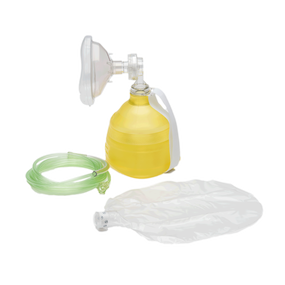 The BAG II Adult Disposable Resuscitator with #5 Mask