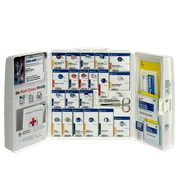 Large Workplace First Aid Kit with Plastic Cabinet