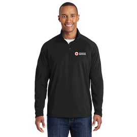 Mens Performance Sport Wick ½ Zip Pullover