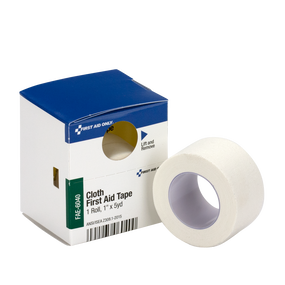Cloth First Aid Tape, 1 in. x 5 yd. Roll