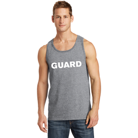 Men's Port & Company Core Cotton Tank Top - GUARD