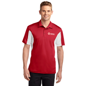 Men's Side Block Polo Shirt