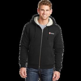 Men's Heavy Hooded Fleece Jacket