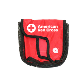 Red Cross QuikPak Belt Pouch for Seal Quik Mask