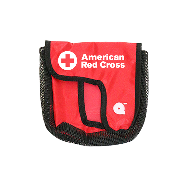 Red Cross QuikPak Belt Pouch for Seal Quik Mask