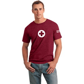 Unisex Classic T-Shirt with American Red Cross Logo