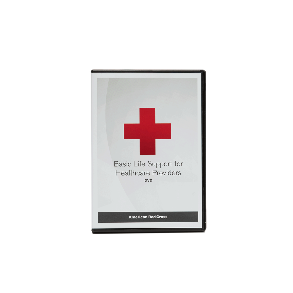 Basic Life Support For Healthcare Providers Dvd Red Cross Store