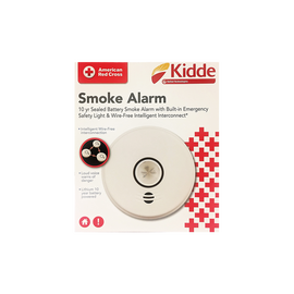 Kidde Smoke Alarm with Safety Light and Wireless Interconnect