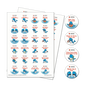 Longfellow's WHALE Tales Stickers, Rev. 03/14