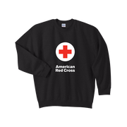 Crewneck Sweat Shirt with American Red Cross logo