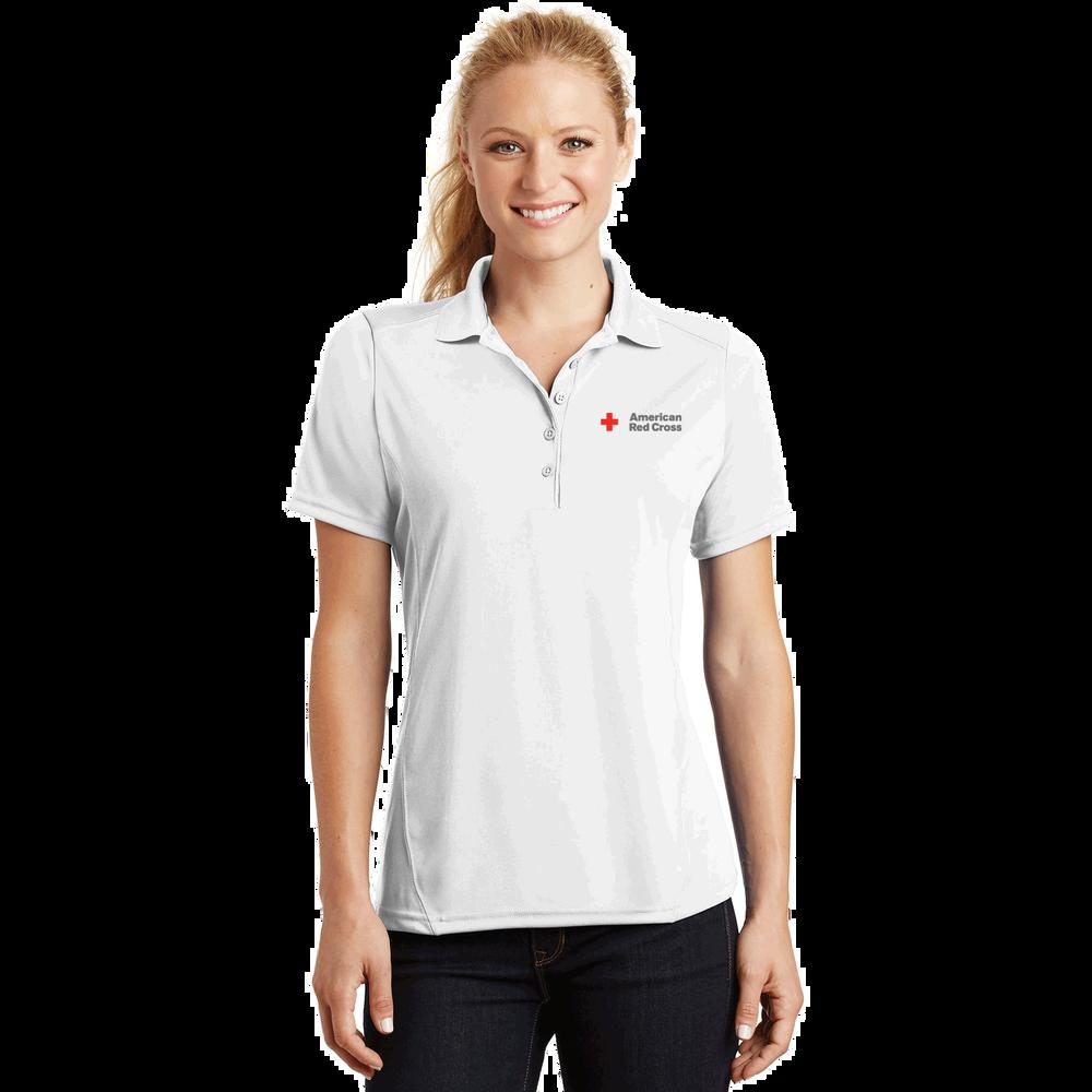 fcf28cf72 Women's Short Sleeve Performance Polo Shirt | Red Cross Store