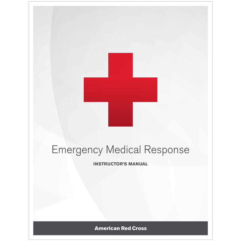 Emergency Medical Response Instructors Manual Red Cross Store