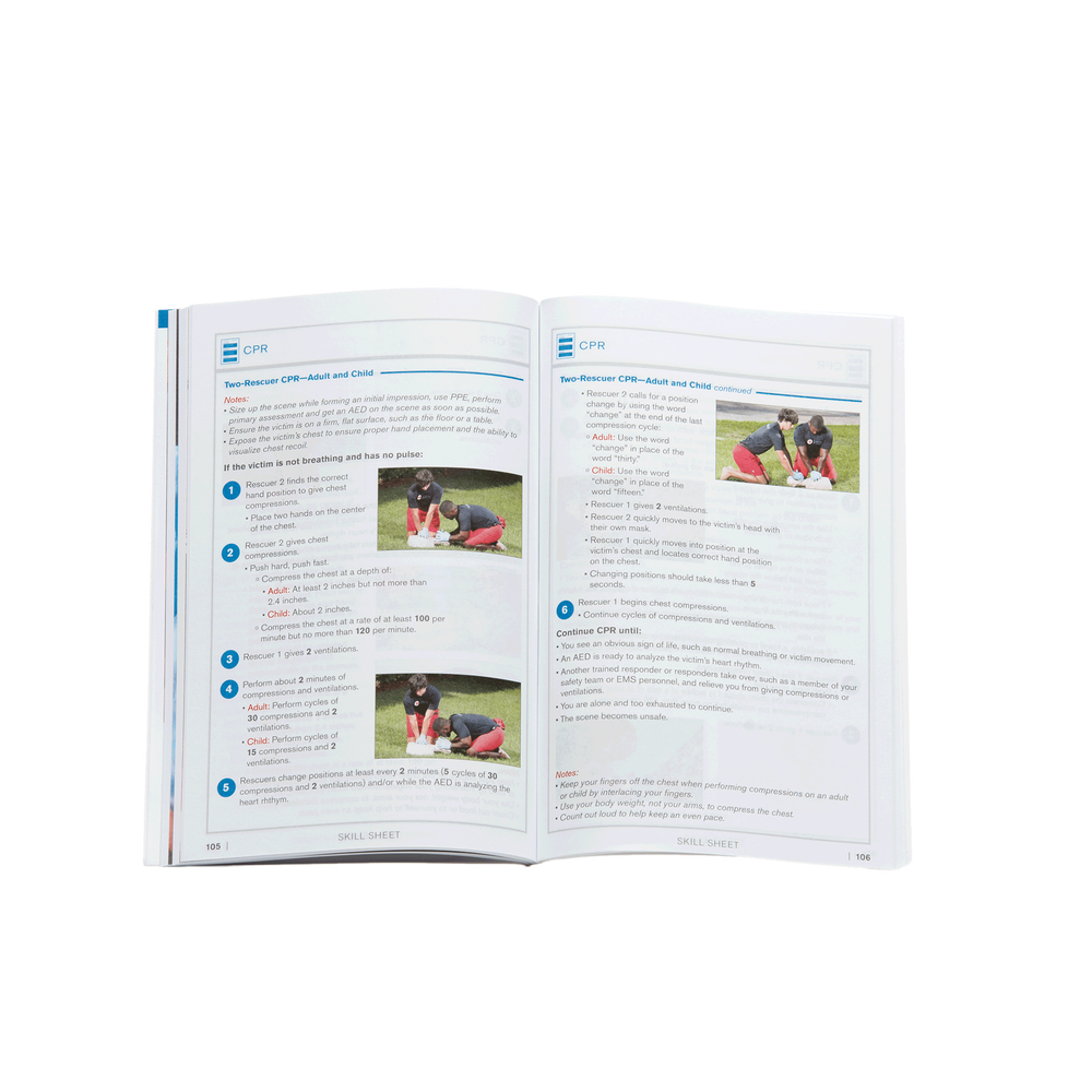 Cpraed for professional rescuers participants handbook red professional rescuers participants handbook images 1betcityfo Images