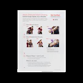 Choking Skill Poster, Rev. 2016