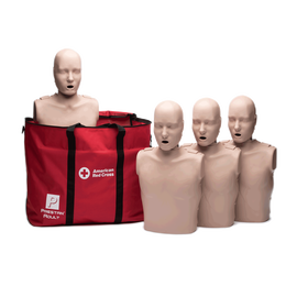 Medium Skin Adult Manikins 4-Pack (with CPR Monitor)