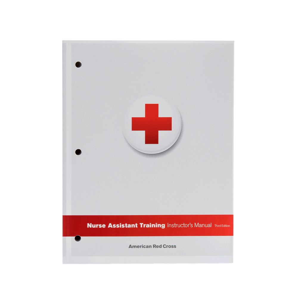 Nurse Assistant Training Textbook Red Cross Store