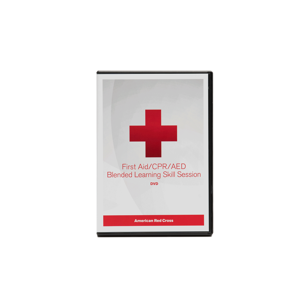 First Aidcpraed Blended Learning Dvd Red Cross Store