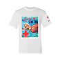 Men's Rash Guard Short Sleeve Shirt - Learn To SwimVintage Print