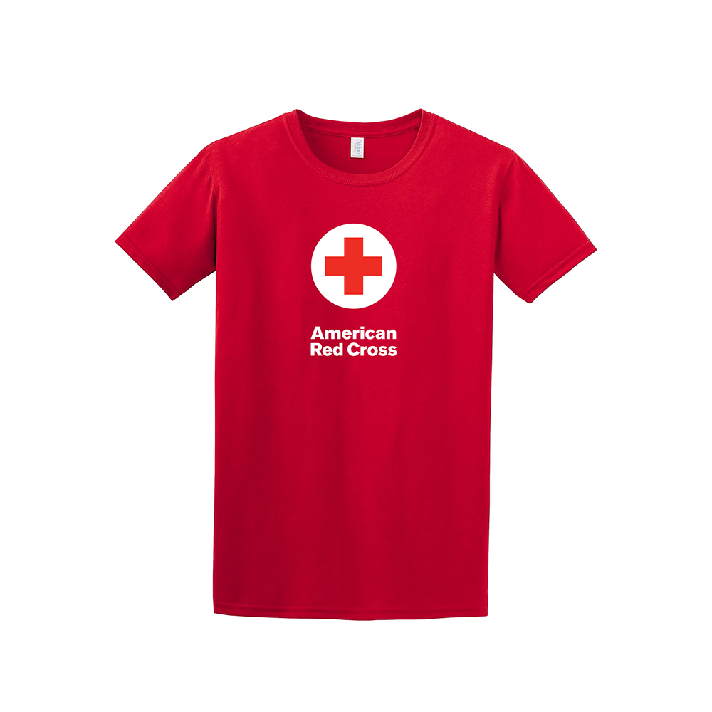 100 cotton classic t shirt with american red cross logo red 100 cotton classic tee shirt with american red cross logo 100 cotton classic tee shirt with american red cross logo 100 cotton classic tee shirt with 1betcityfo Choice Image