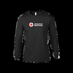 Red Cross Long Sleeve Rash Guard